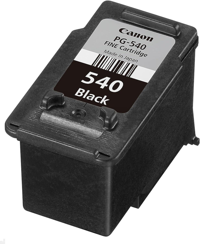 Canon Pg 540 Bk Druckertinte Schwarz 8 Ml Für Pixma Tintenstrahldrucker Original Bürobedarf Schreibwaren