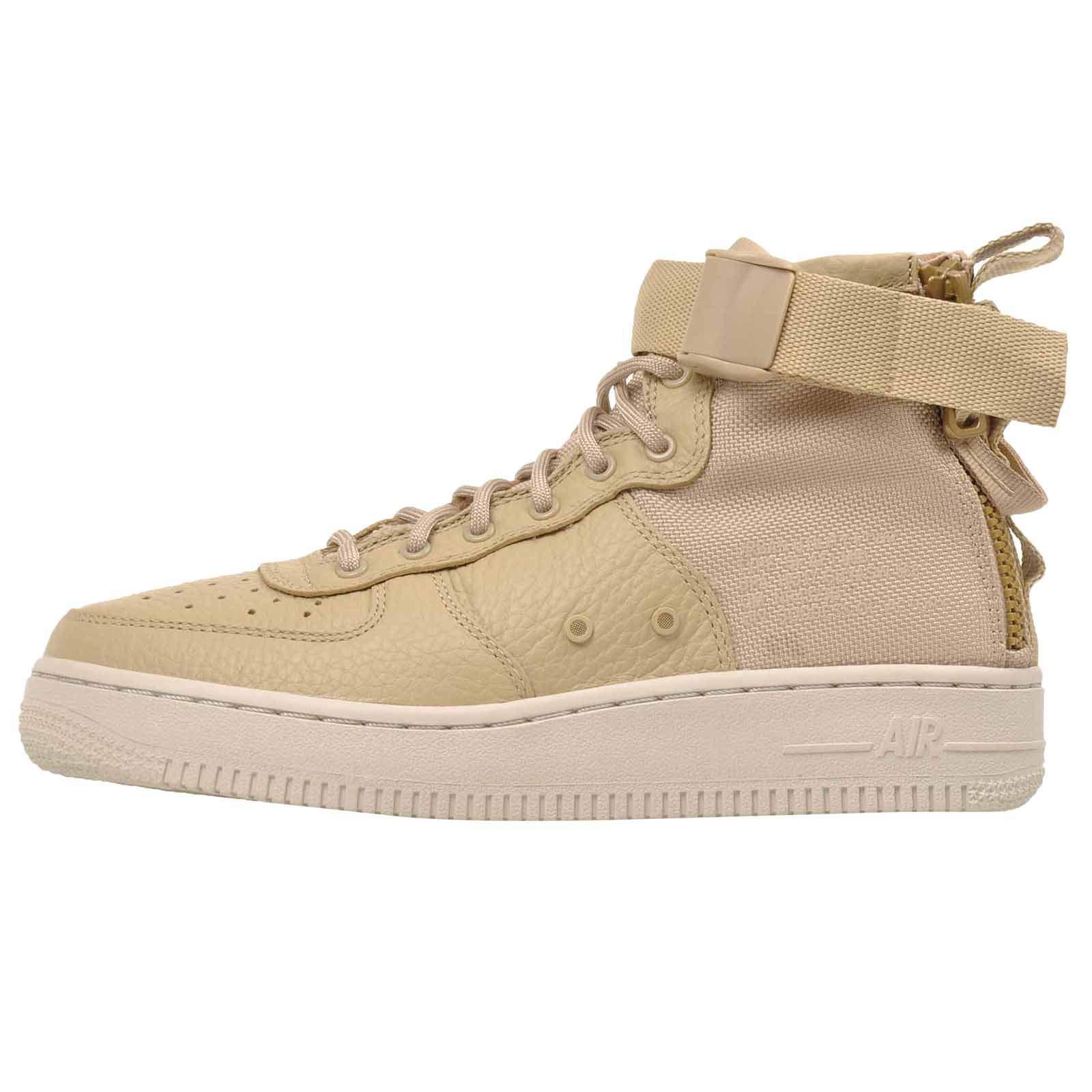 1a0732aae6 Galleon - Nike SF Air Force 1 Mid G.S Youth Big Kids Mushroom/Light Bone  AJ0424-200 (5)