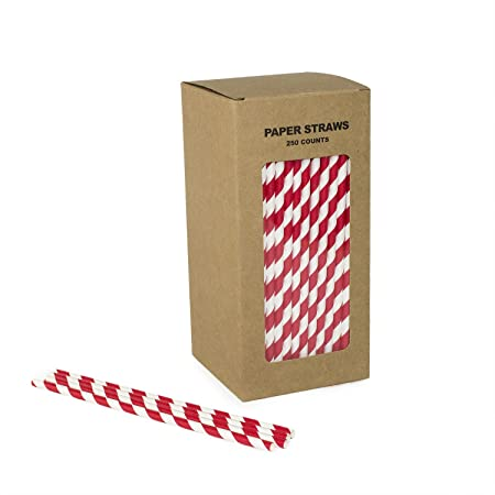 Compra Paja de papel biodegradable Tubo de succión de papel a ...