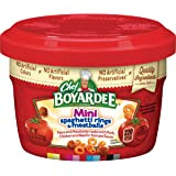 Chef Boyardee Mini-Bites Spaghetti Rings & Meatballs, 7.5 Oz. (Pack of 12)