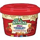 Chef Boyardee Mini-Bites Spaghetti Rings & Meatballs, 7.5 Oz. (Pack of 12)