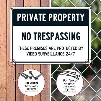 Amazon.com: Señal de Prohibido el paso, señal ...