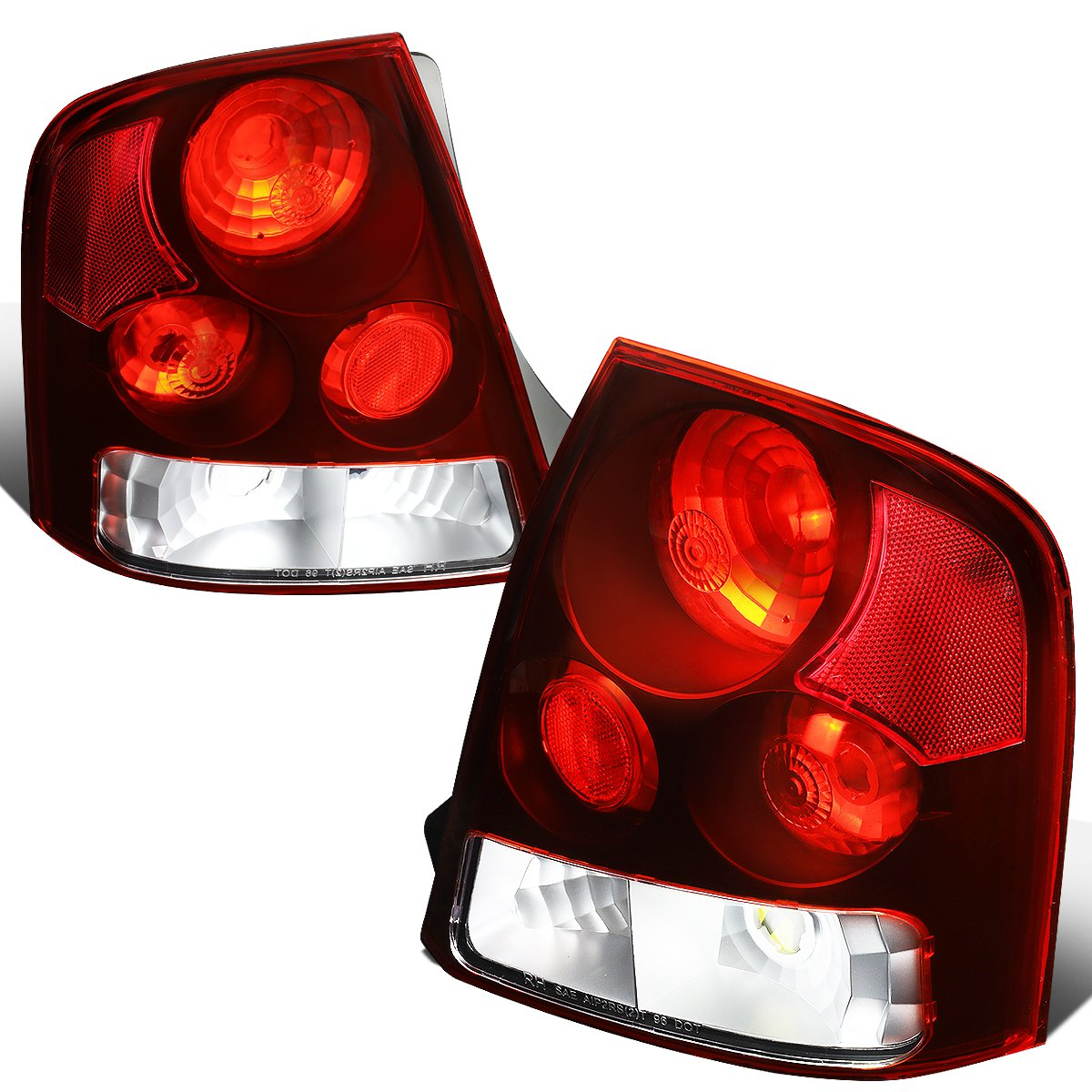 Amazon.com: For 1999-2003 Mazda Protege Red Lens Altezza Style Tail Light  Brake/Parking Lamps: Automotive