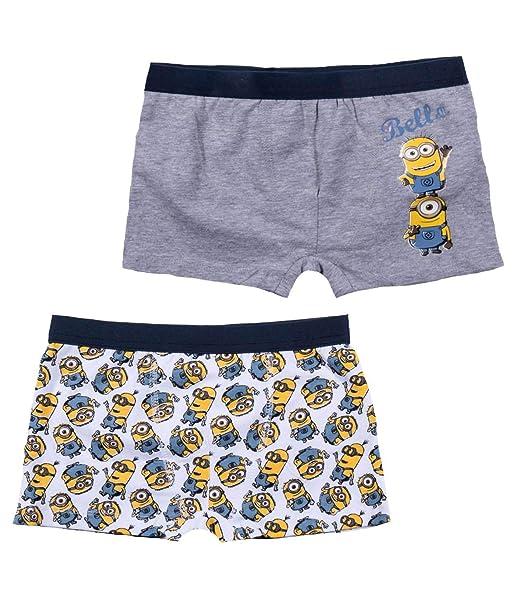 cf215f26777182 Minion - Boxer - Ragazzo Gelb 12 Anni: Amazon.it: Abbigliamento