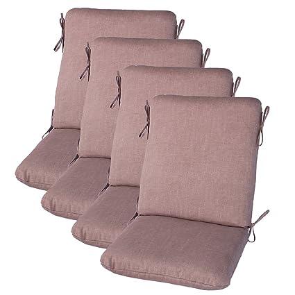 Amazon.com: Juego de 4 al aire última intervensión silla de ...