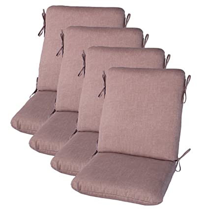 Amazon.com : Comfort Classics Inc. Set of 4 Outdoor Dining ...