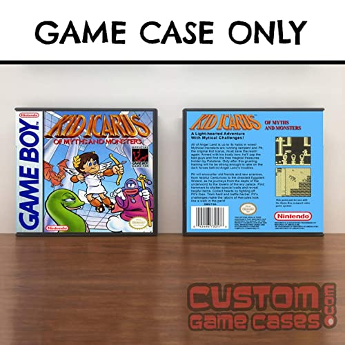 Gameboy Kid Icarus Of Myths And Monsters