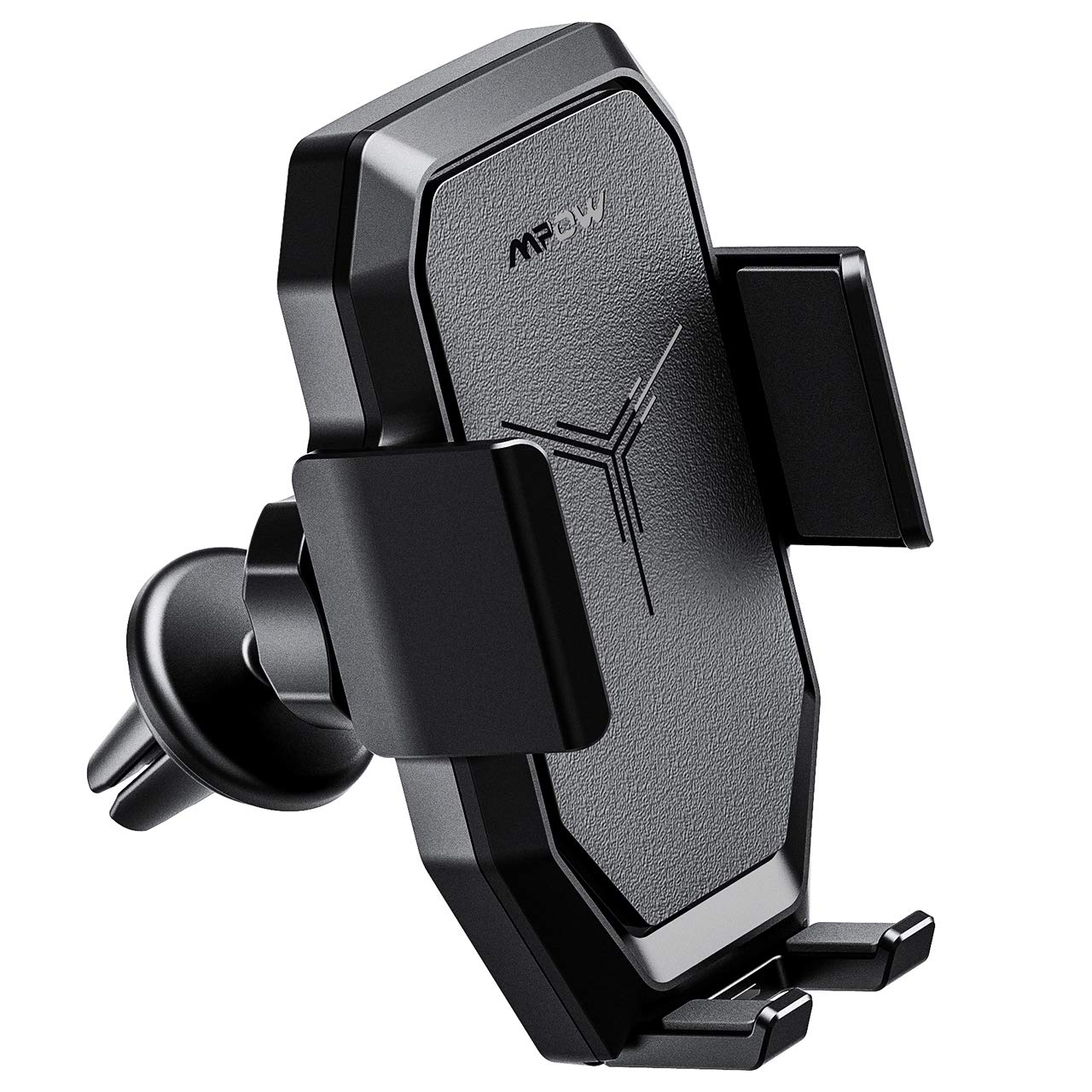 Mpow Wireless Car Charger, Car Phone Mount Car Mount Air Vent Phone Holder, Fast Charge for Samsung Galaxy,Standard Charge for Phone XS/S/XS Plus, iPhone 8/8 Plus and Qi Enabled Devices Shenzhen Qianhai Patuoxun Network & Technology LTD PXMPCA099AB-V
