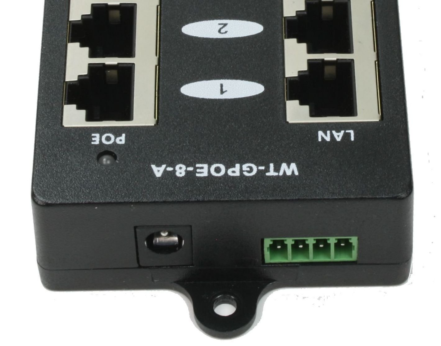 WT-GPOE-8 Multi Port Gigabit PoE Injector with 8 Ports for Power and Data To 8 Devices, Add Power over Ethernet To Any Switch-NOT INCLUDED.Use with External Power Supply for Passive or 802.3af Devices by WiFi-Texas (Image #2)