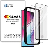 Glass Screen Protector for Galaxy S10 5G,6.7 Inch, not for S10, 2 Pack,Curved Tempered Glass,Compatible with Ultrasonic Finge