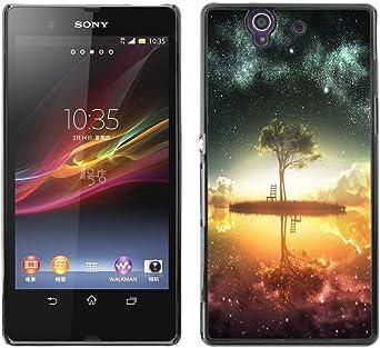 Funda para Smartphone carcasa rígida Carcasa para Sony Xperia Z ...