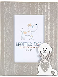 SPOTTED DOG GIFT COMPANY Marco de Fotos de Madera Retrato 10 ...