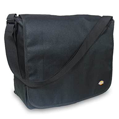 Amazon.com | Dickies Luggage Convertible Messenger, Black, One ...