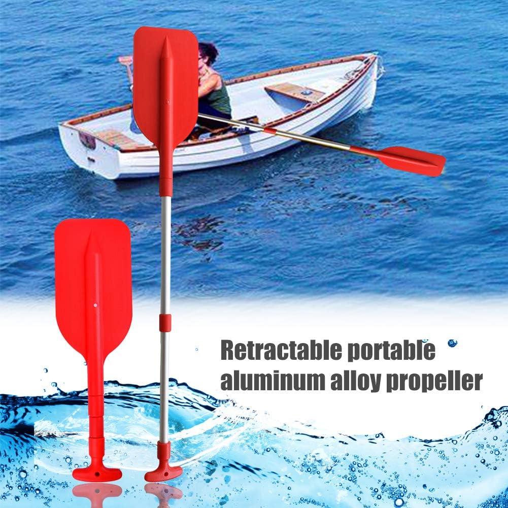 Remo telescopico multiuso per barca gonfiabile Junean Pagaia telescopica per barca Pagaia per kayak 1PC Pagaia per canottaggio per rafting portatile per sport acquatici