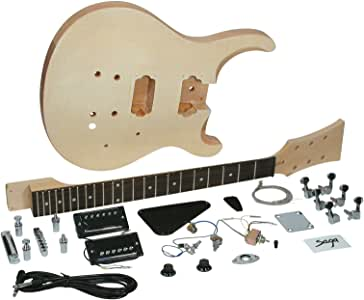 Saga HT-10 Electric Guitar Kit - PS Style,Natural