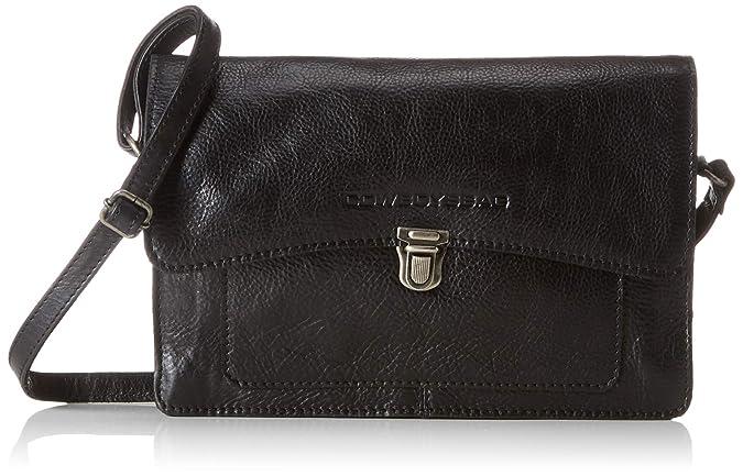 980e681eafd Cowboysbag Bag Noyan, Women's Cross-Body Bag, Black (000100 - Black),  8x16x27 cm (B x H T): Amazon.co.uk: Shoes & Bags