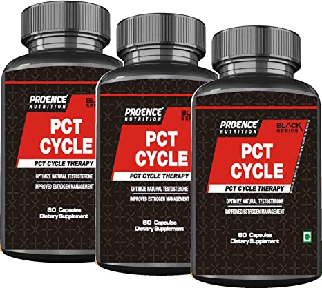 Proence Nutrition PCT CYCLE Capsules,Advance Post Cycle Therapy Supplement   Powerful Cycle Recovery & Help in Enhancing Health  Milk Thistle,