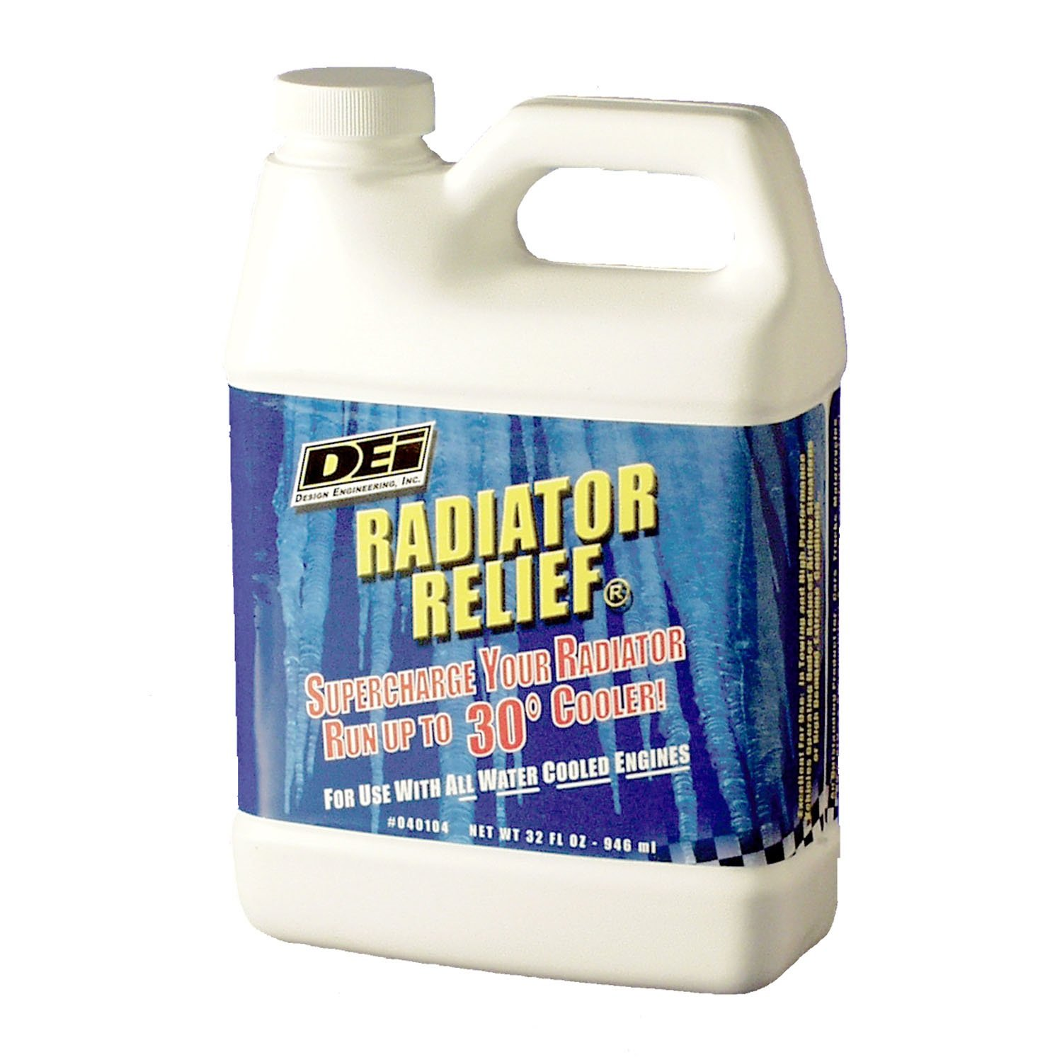 Design Engineering 040104 Radiator Relief Coolant Additive for All Water Cooled Engines, 32 oz. by Design Engineering