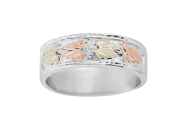 ブラックヒルズゴールドシルバーメンズ結婚指輪9(12.5 ) B07D9V93MM