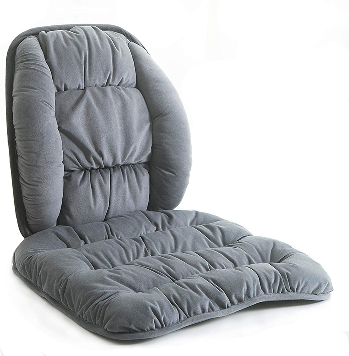 Ergonomic Back Pain Relief Lumbar Support Pillow And Anti Slip Bottom Chair Cushions Nonslip Car Seat Cushion And Back Pads With Adjustable Strap For Office,Dinning Room,Wicker,Lounge Chair,Auto Car Seats,Sofa,Wheelchair