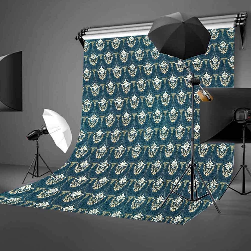 7x10 FT Wedding Vinyl Photography Background Backdrops,Vintage Silhouette Frames Married Couple French Style Design Happiness Background for Selfie Birthday Party Pictures Photo Booth Shoot