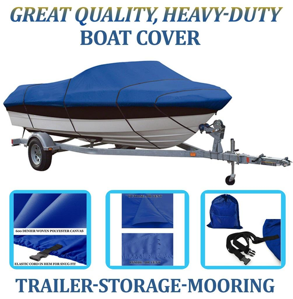 SBU Blue, Boat Cover for WEERES Key Largo 166 1998 by SBU