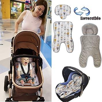 US Newborn Baby Headrest Car Seat Pillow Support Stroller Liner Mat Cushion Pad