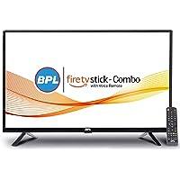BPL 32 inch LED TV with Amazon Fire TV Stick  I Smart Combo (Black)
