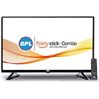 BPL 32-inch LED TV with Amazon FireTV Stick  I Smart Combo (Black)