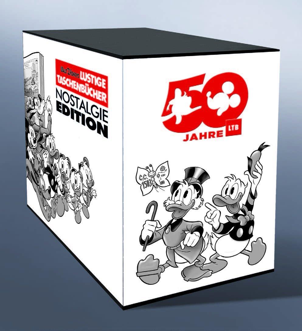 Lustiges Taschenbuch Nostalgie-Edition Box: 50 Jahre LTB: Amazon.de ...