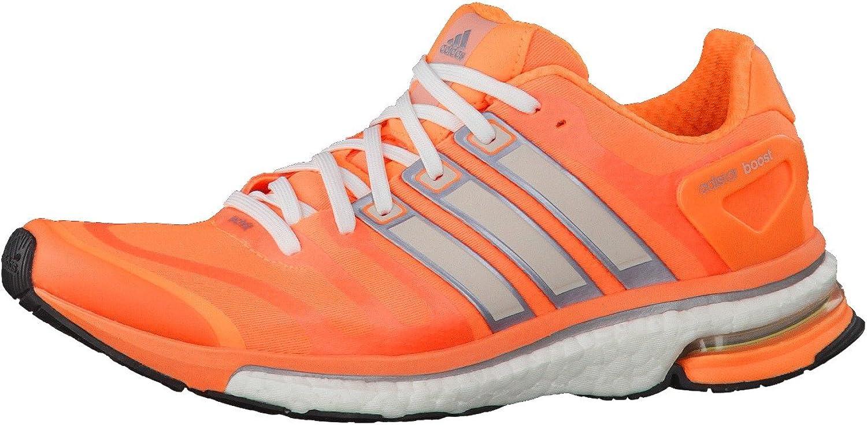 adidas - Zapatillas de Running de Material Sintético para Mujer Naranja Naranja: Amazon.es: Zapatos y complementos