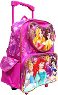 """Tinkerbell Large 12/"""" Small Rolling Backpack by Disney For KID Licensed product"""