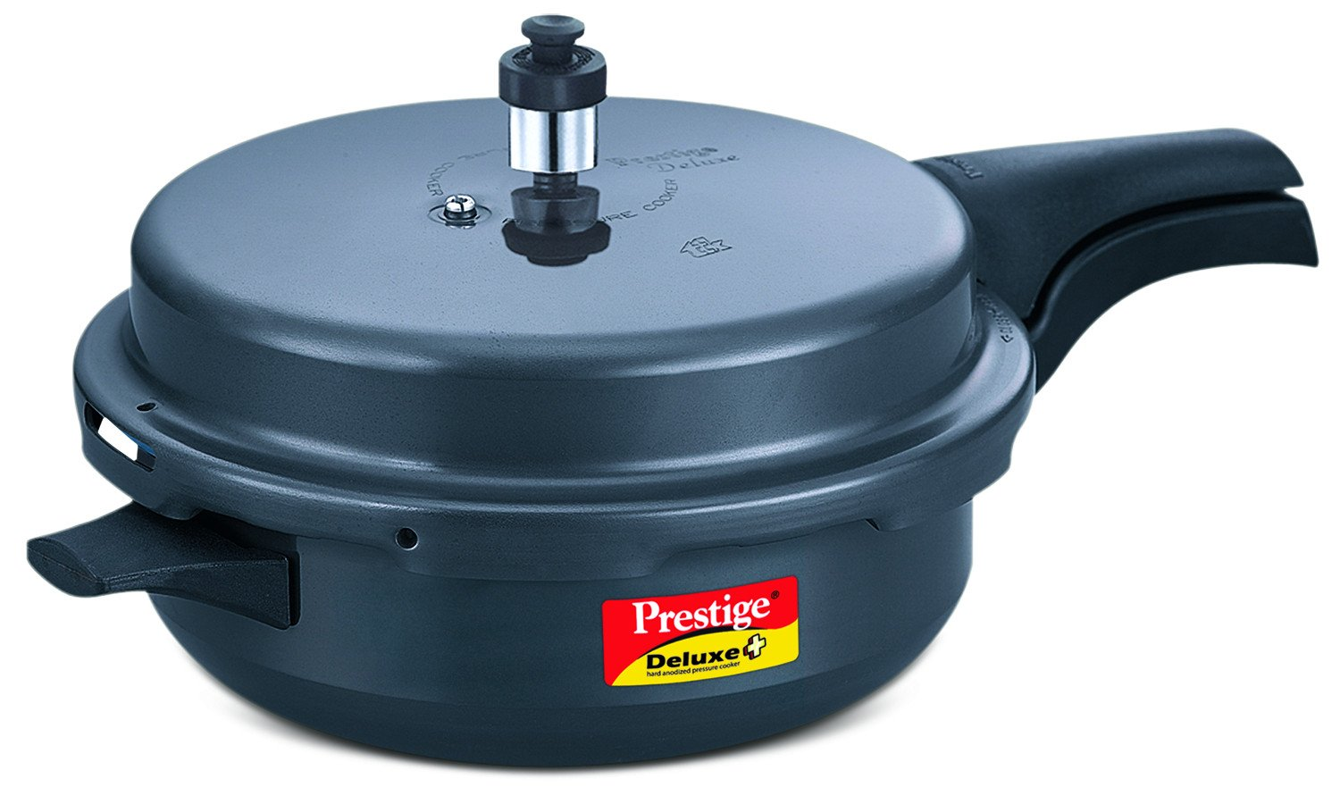 TTK Prestige 20354 Deluxe Plus Pressure Cooker Senior Dark Grey