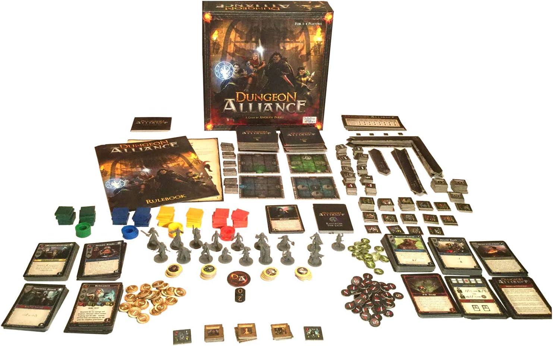 Quixotic Games Dungeon Alliance - Juego en inglés: Amazon.es: Juguetes y juegos