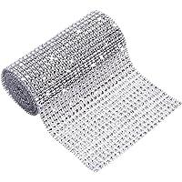 24 Filas Collar de la Cinta de la Torta del Diamante del Rhinestone de Dlata de
