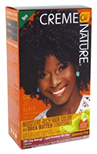 Creme Of Nature Color C10 Jet Black Kit (2 Pack)