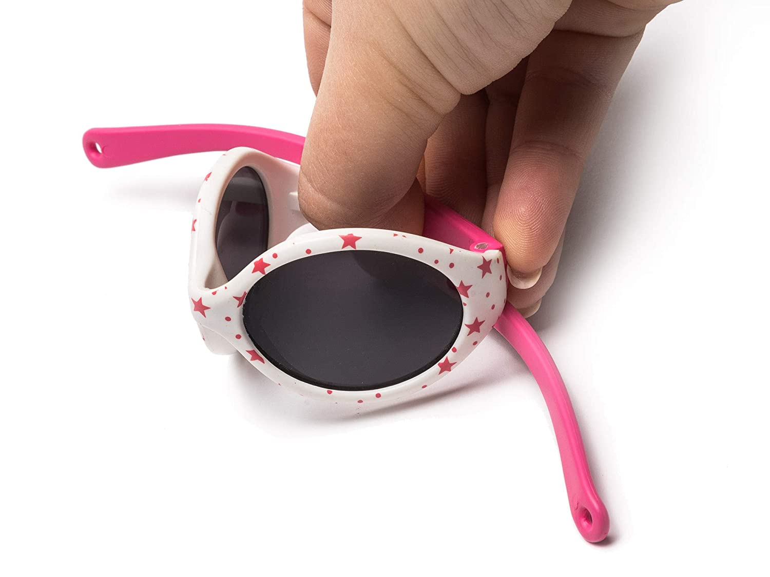 Adjustable and Detachable Elastic Band Sun filter UV400 From 6 months KIDDUS Baby Comfort SUNGLASSES Boy and Girl Flexible Safe Comfortable and Resistant Goggles