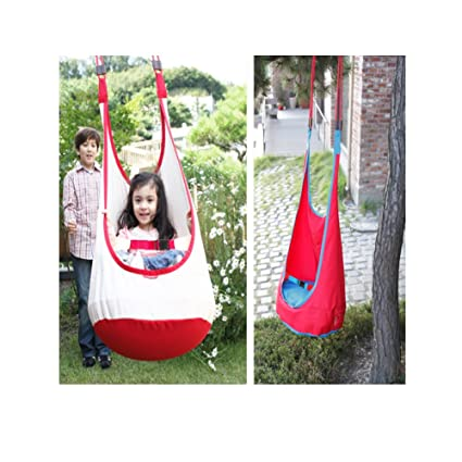 2427a2228 Amazon.com   Papa swing Child Hammock Swing Chair Tent