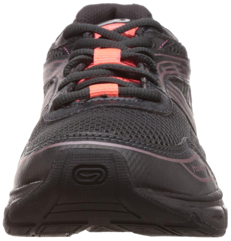 new concept cddd4 03690 Kalenji Decathlon Women s Ekiden 75 Black and Orange Mesh Running Shoes - 3  UK  Amazon.in  Shoes   Handbags