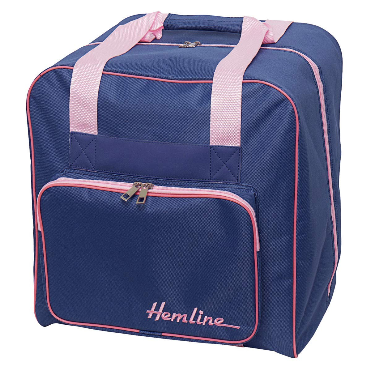 Hemline Premium Overlocker Storage Bag - Blue/Pink by Hemline