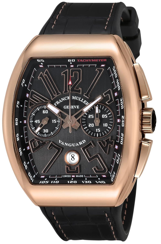 [フランクミュラー]FRANCK MULLER 腕時計 ヴァンガード ブラック文字盤 V45CCDT BLK BLK GDH メンズ 【並行輸入品】 B07FGKM3H3