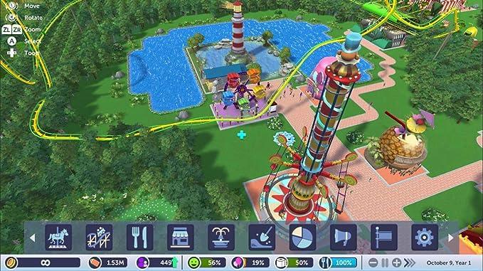 Roller Coaster Tycoon SWITCH: Amazon.es: Videojuegos