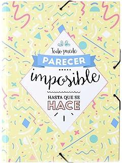 Grupo Erik Editores - Carpeta Solapas Amelie Classic Amarillo