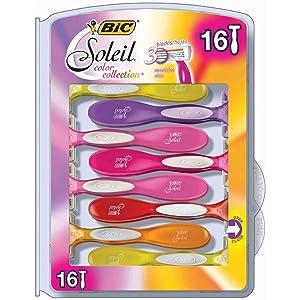 BIC Soleil Color Collection Razors (16 ct.)
