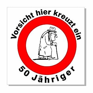 A Z Store Geburtstagsschild 44x44cm Verkehrs Verbotszeichen Schild