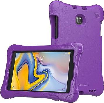 MoKo Coque pour Samsung Galaxy Tab A 8.0 LTE 2018 SM-T387W/Tab A 8.0 2018 SM-T387, EVA Kids Friendly Coque ultra légère antichoc ultra résistante pour ...