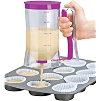 Itian Cupcake Special Batter Dispenser 4-Cup Capacity