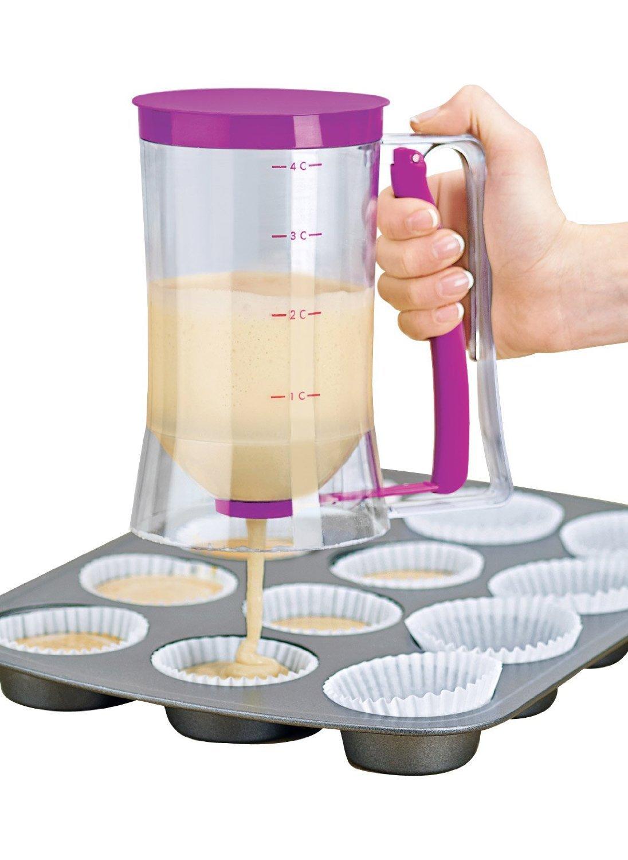 Itian Cupcake Special Batter Dispenser 4-Cup Capacity