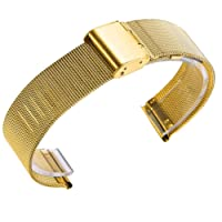 BBring Ersatzbandband für Xiaomi Huami, Rostfreier Stahl Ersatz Armband für Xiaomi Huami Amazfit Bip Youth Uhren