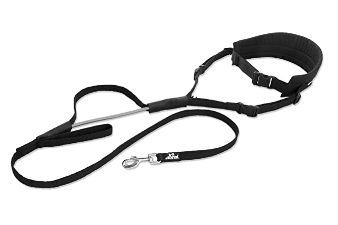 Julius K9 Jogging Belt With Rubber Leash Size 2 For Dogs Over 25
